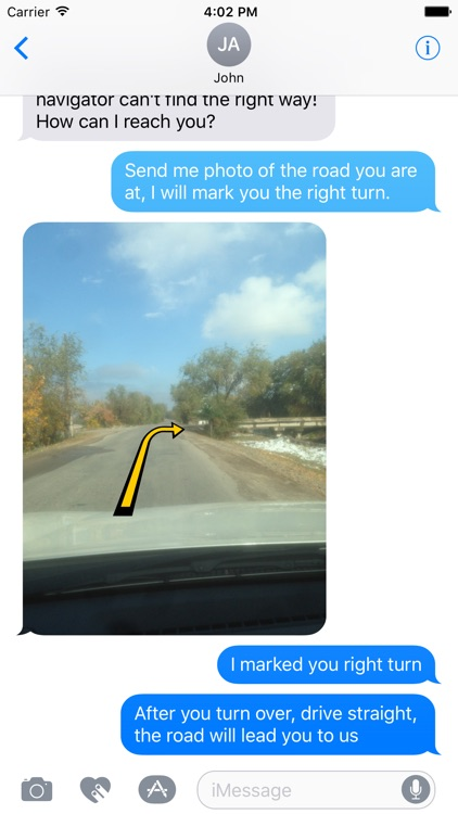 Right Way Pointer - Arrows stickers for iMessage