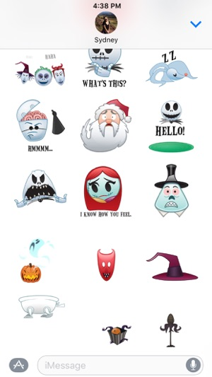 Disney stickers the nightmare before christmas on the app store disney stickers the nightmare before christmas on the app store solutioingenieria Gallery