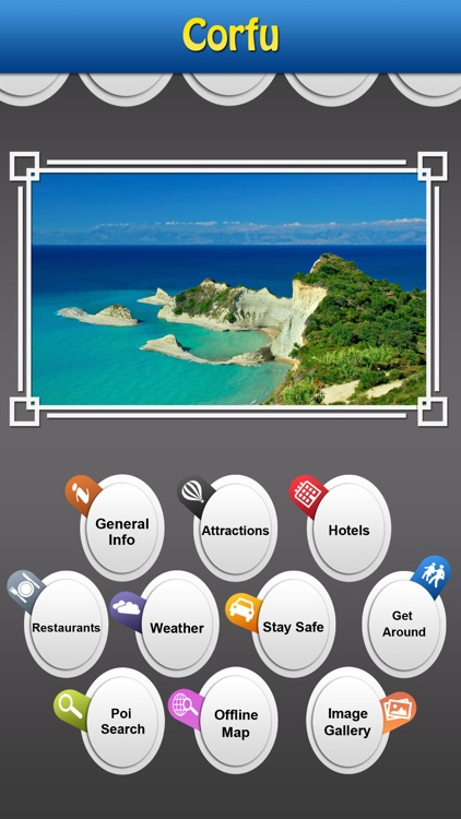 Corfu Island Offline Guide screenshot-0