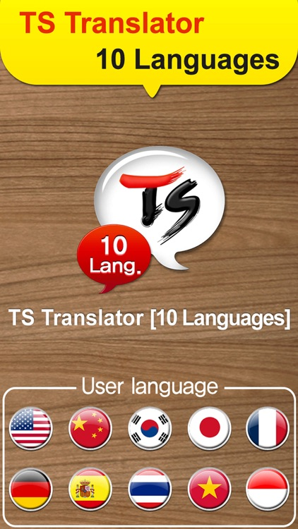 TS 10Lang Translator