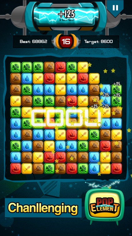Popstar Element - Pop the stars for puzzle lovers screenshot-2