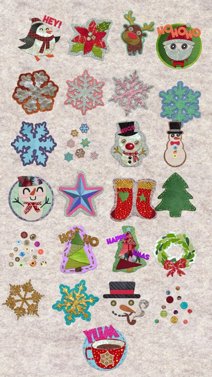Awesome Craft Christmas Stickers screenshot-3