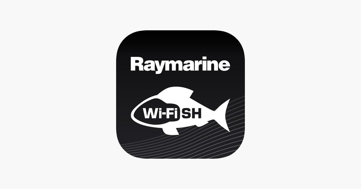Raymarine Wi-Fish on the App Store