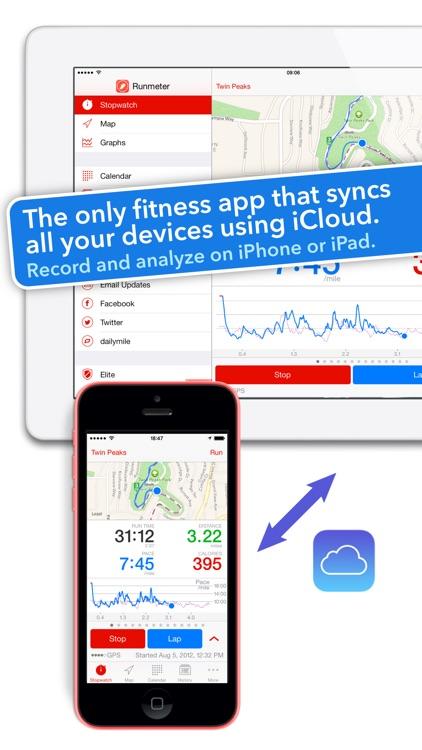 Runmeter GPS - Running, Cycling, Walking, Jogging screenshot-4