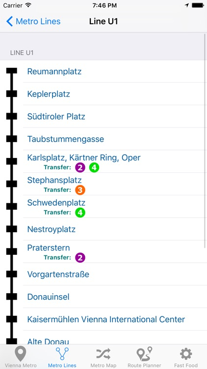 Vienna Metro and Subway screenshot-3