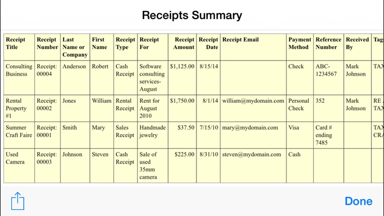 ezReceipt screenshot-3