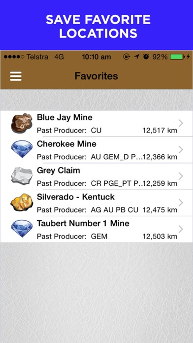 Digger's Map: Find Minerals Screenshot
