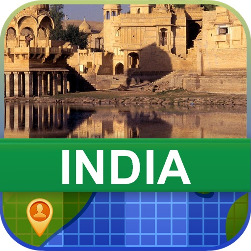 Offline India Map - World Offline Maps icon