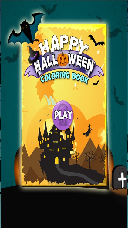 Happy Halloween Coloring Book screenshot-0