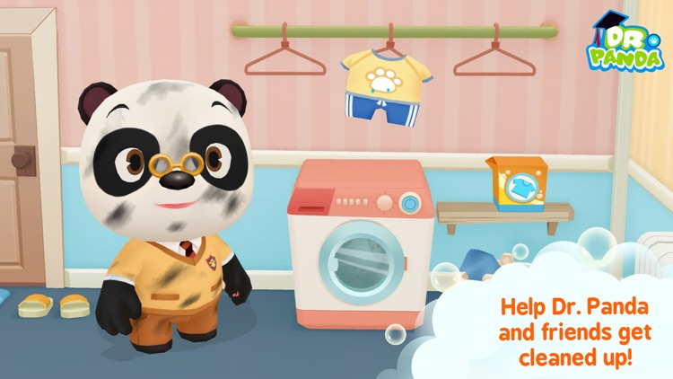 Dr. Panda Bath Time screenshot-0