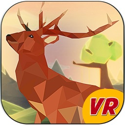 Low Poly Deer Sniper Hunting- VR (Virtual Reality)