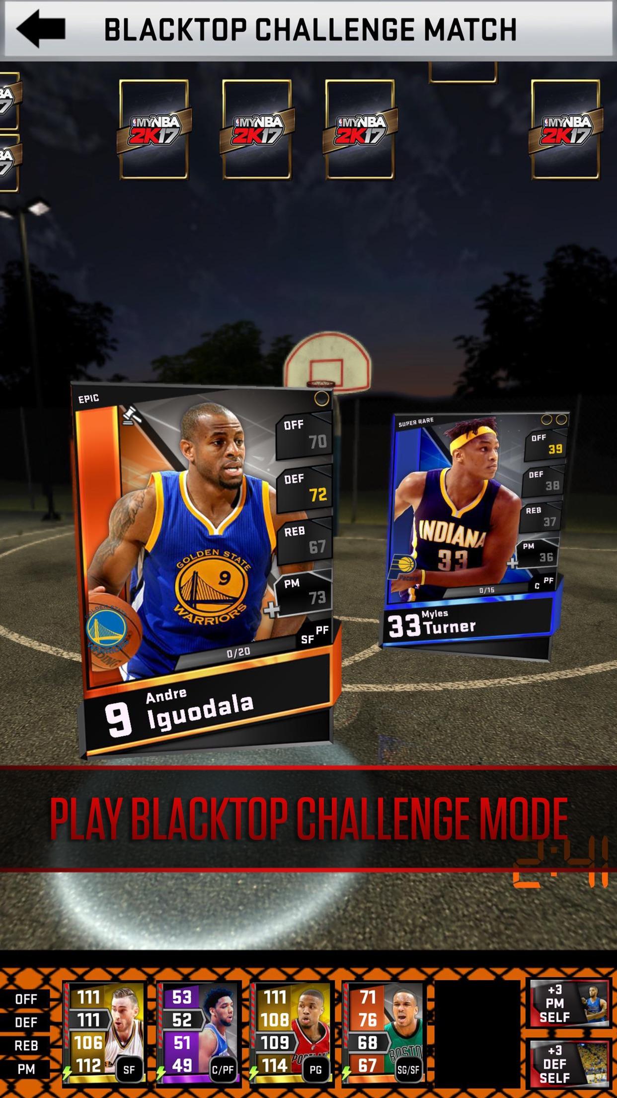 My NBA 2K17 Screenshot