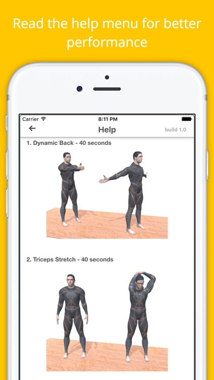 12 Min Stretch Challenge Workout Free Pain Relief screenshot-4