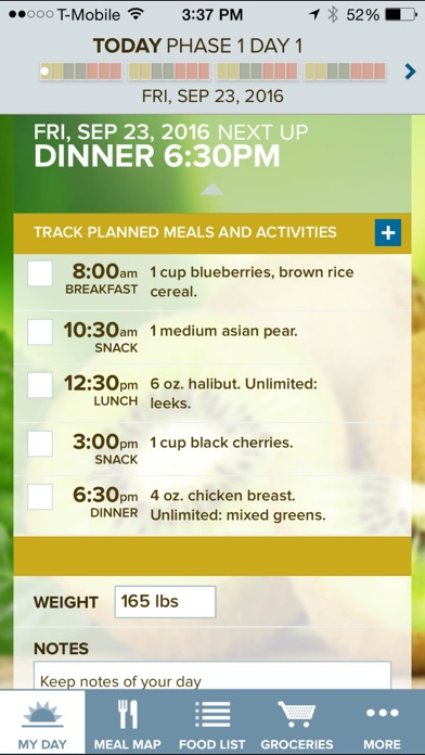 Iphone Meal Planning App