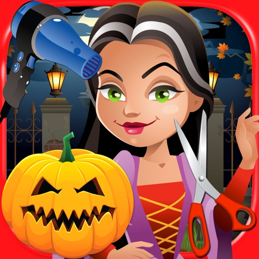 Halloween Hair Salon - Kids Free Makeover Salon & Shave Games FREE
