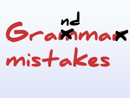 Frustrated in someone make fun of you by putting red ink stickers on your messages regarding your grammar mistakes