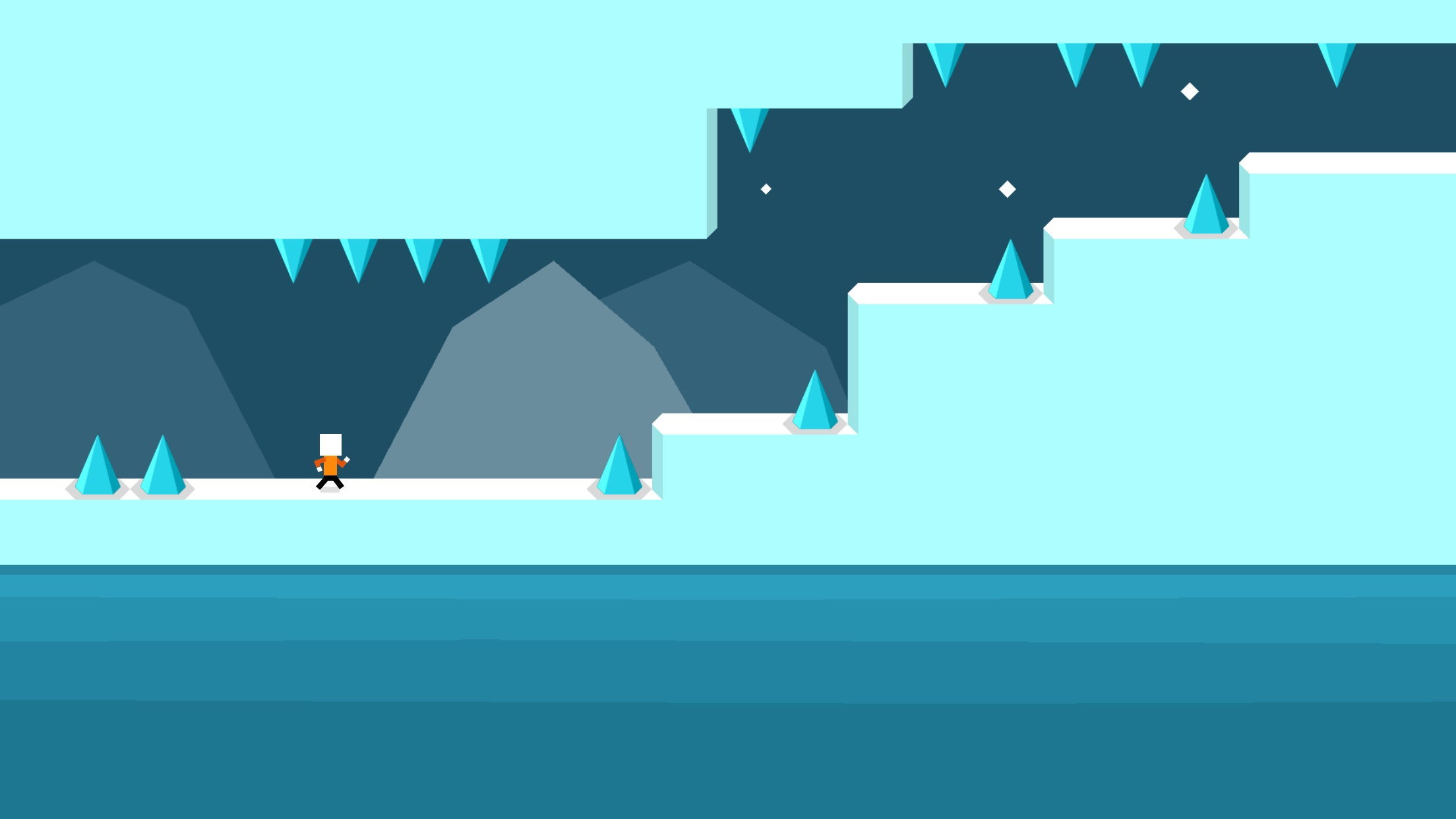 Screenshot do app Mr Jump