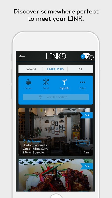 LINKD – Find people in London & Discover date ideas screenshot four