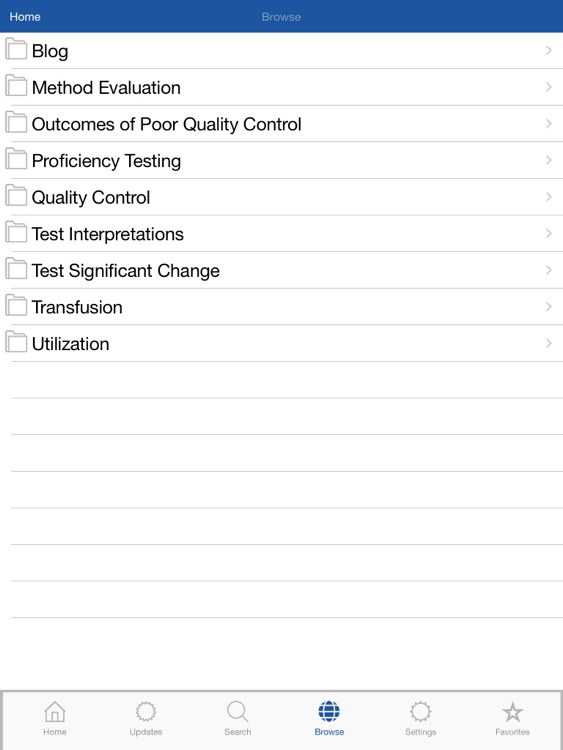 Lab Test Navigator: 800+ Lab Tests for iPad
