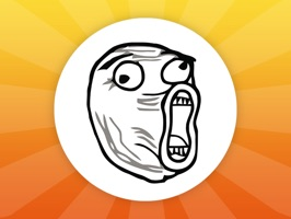 Rage Against the Meme | Rage Face Meme Stickers