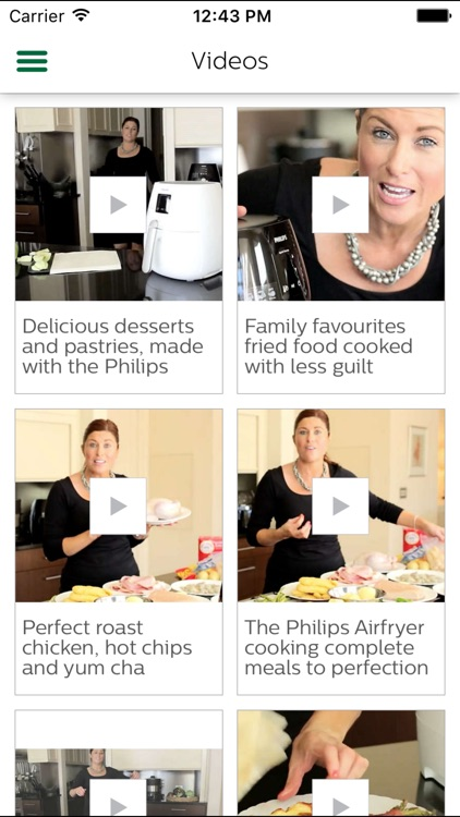 Philips Airfryer screenshot-3