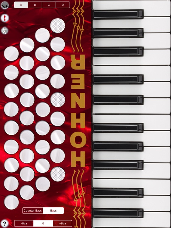 Hohner MIDI Piano Accordion MIDI Controller screenshot-2