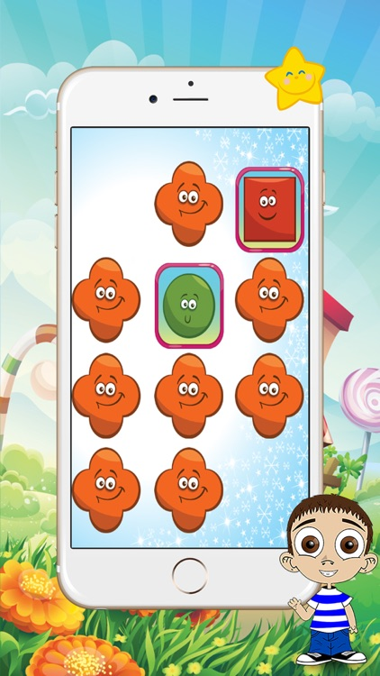 Memory Games For Kids - Baby Learns Shapes
