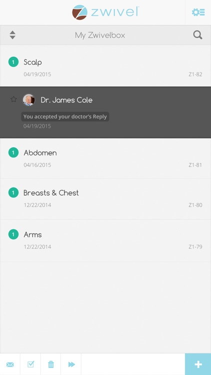 Zwivel Online Cosmetic Consultations screenshot-3