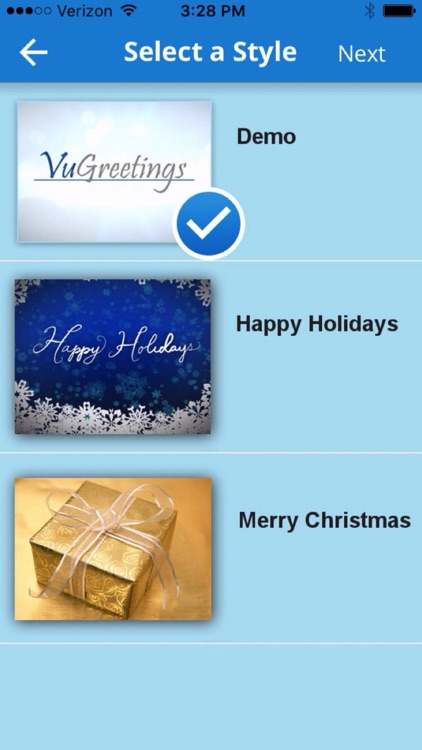 VuGreetings screenshot-3