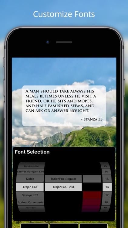 Pocket Havamal - Daily Asatru Meditations of Wisdom from Odin - Olive Bray Translation screenshot-4
