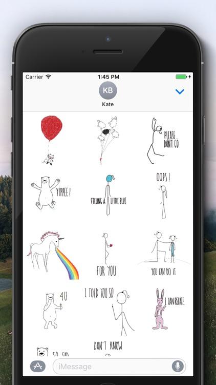 ANAISMOODS: Stickers by Anaïs Godard screenshot-3