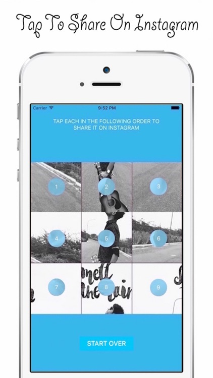 9cuts for Instagram -Share pic Quickly & save time screenshot-3