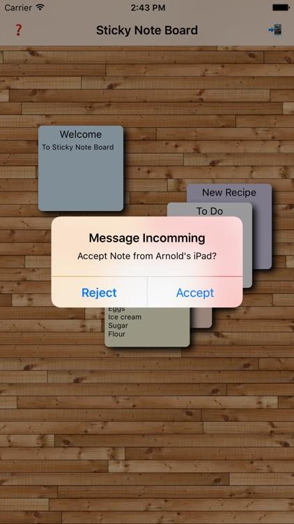 Sticky Note Board screenshot-3