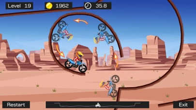 Top Bike - Best Motorcycle Stunt Racing Game Скриншоты5