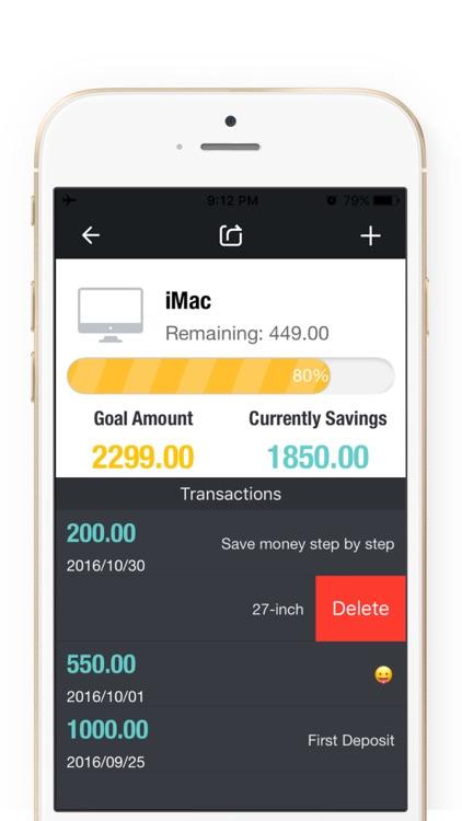 Saving Money Box 2Pro-Savings Account,Goal Tracker