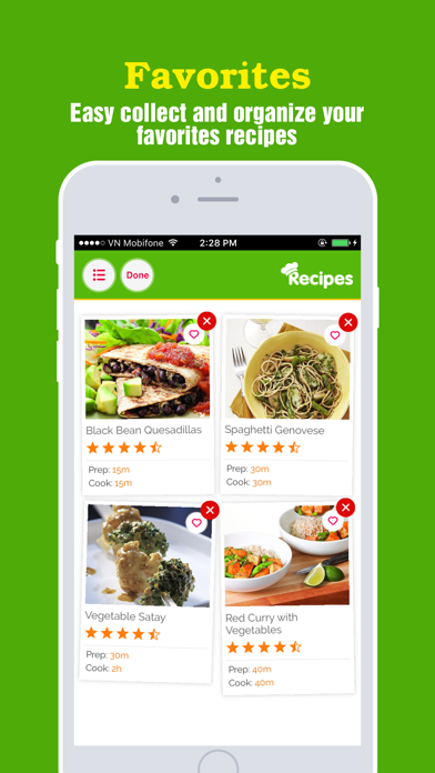 Healthy Vegetarian Pro~Easy & Delicious Meal Ideas screenshot four