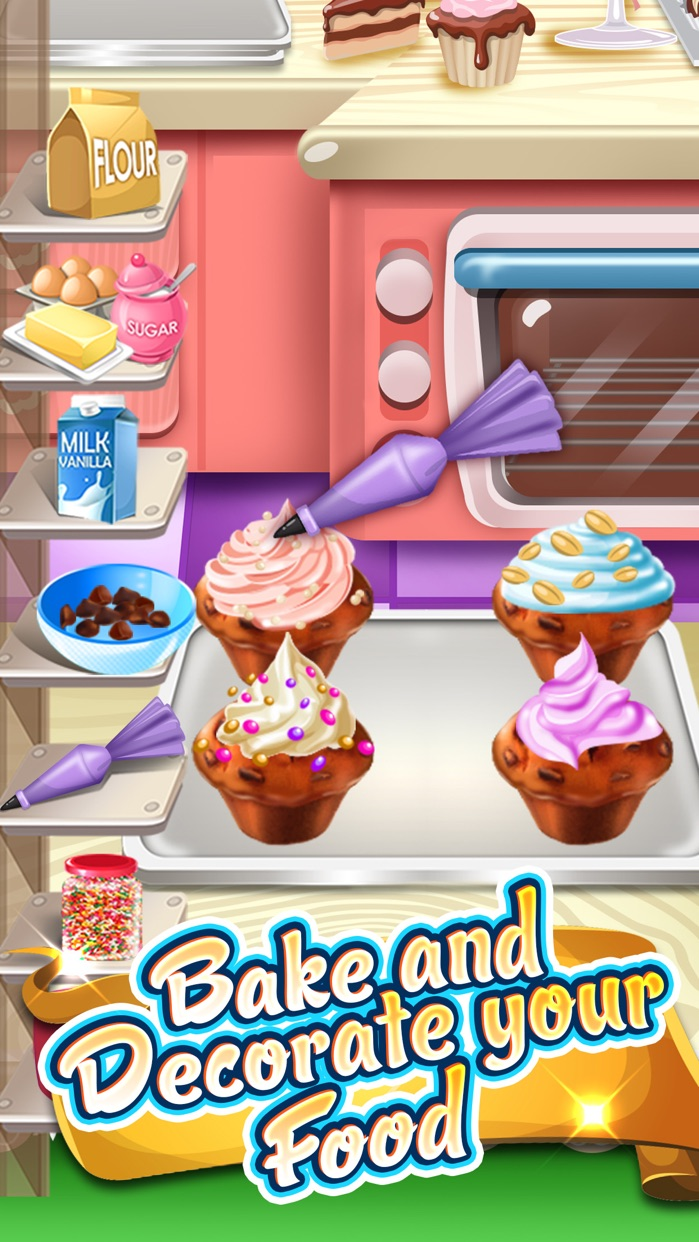 My Dina Food Maker Cooking Kids Games Free Screenshot
