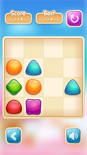 Jelly Pop - 2048 Like Puzzle Board Game 4+