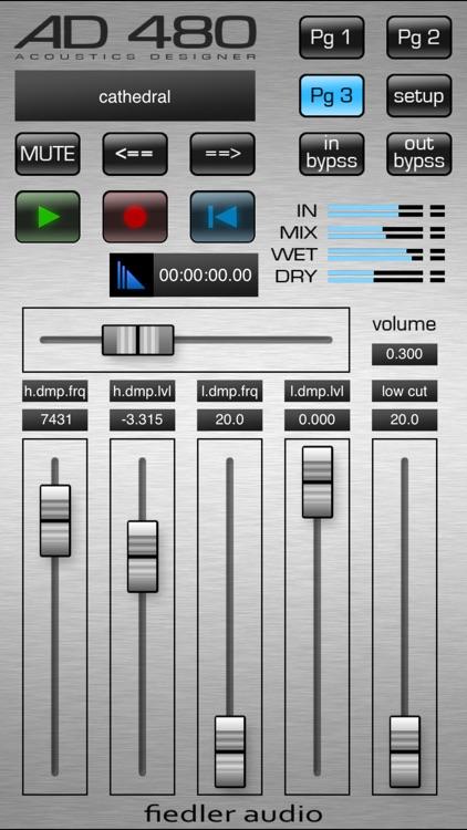 AD 480 pro - Studio Reverb