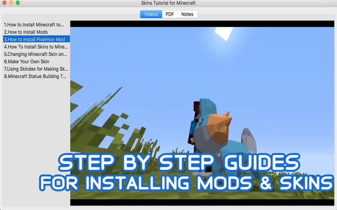 Skins Tutorial for Minecraft - Online Game Hack and Cheat