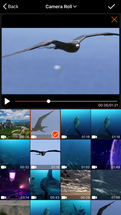 Video Crop - Crop and Resize Video screenshot one