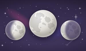 Moon Calendar TV — Lunar Phases