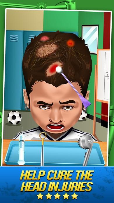 Soccer Doctor Surgery Salon - Kid Games Free Screenshot