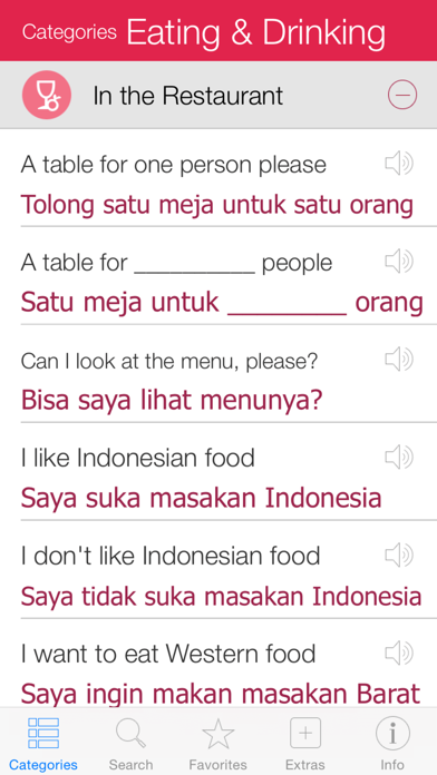 Indonesian Pretati - Speak with Audio Translation screenshot two