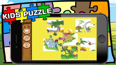 Dinosaur Puzzle Jigsaw HD Game For Toddlers & Kids screenshot four