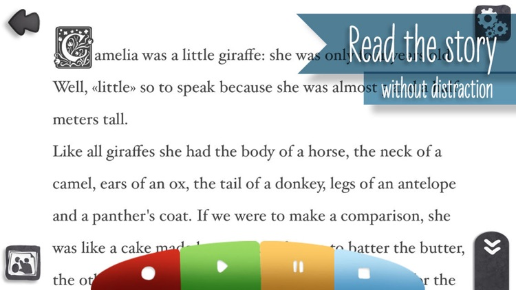 Camelia the giraffe Book!
