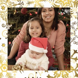 Holiday Christmas Frame - Instant pic frames
