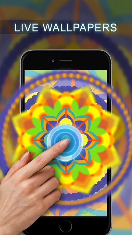 Live Mandala Wallpapers Free screenshot-3