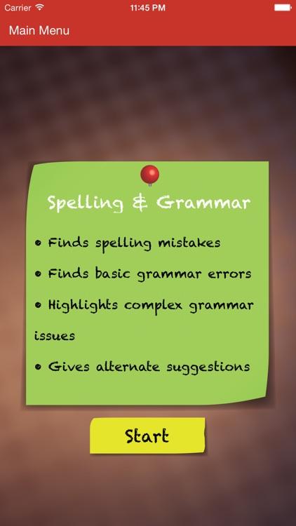 GradeProof Proofreading & Plagiarism Detection app image