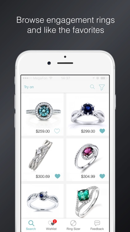 Say Yes! - find and try on engagement rings screenshot-0